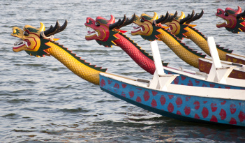 Drachenboot-Tour in Rostock